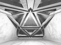 Fundo concreto geométrico abstrato da arquitetura Imagem de Stock Royalty Free