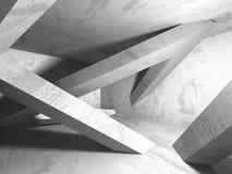Fundo concreto geométrico abstrato da arquitetura Imagens de Stock Royalty Free