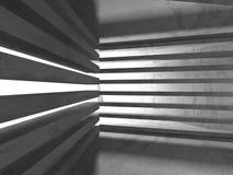 Fundo concreto geométrico abstrato da arquitetura Fotografia de Stock Royalty Free