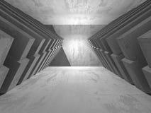 Fundo concreto geométrico abstrato da arquitetura Fotos de Stock Royalty Free