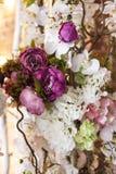 Fundo consiste em flores diferentes foto de stock