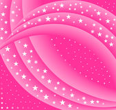 Fundo cor-de-rosa abstrato 2 da estrela Foto de Stock