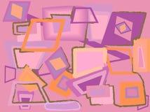 Fundo cor-de-rosa abstrato. Ilustração do vetor Imagens de Stock Royalty Free