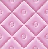 Fundo cor-de-rosa acolchoado Imagens de Stock Royalty Free