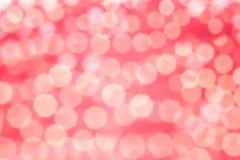 Fundo cor-de-rosa de Bokeh Textura abstrata Imagens de Stock