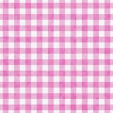 Fundo cor-de-rosa brilhante da repetição do teste padrão do guingão Imagens de Stock