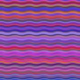 Fundo cor-de-rosa brilhante do teste padrão retro Imagens de Stock Royalty Free