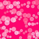 Fundo cor-de-rosa com balões brancos abstraia o fundo Cart?o tirado m?o da textura Espirra a goma de bolhas Projeto para fundos, ilustração do vetor