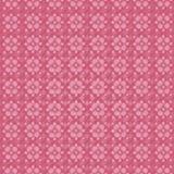 Fundo cor-de-rosa com flores Imagem de Stock