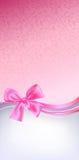 Fundo cor-de-rosa da curva Fotos de Stock Royalty Free
