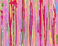 Fundo cor-de-rosa da listra de Grunge Fotos de Stock