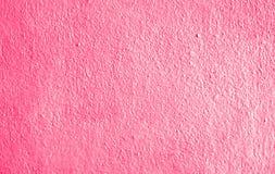 Fundo cor-de-rosa da parede imagem de stock