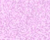 Fundo cor-de-rosa da telha Imagens de Stock Royalty Free