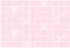Fundo cor-de-rosa da telha Foto de Stock Royalty Free