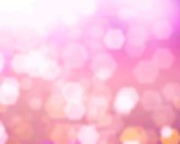 Fundo cor-de-rosa de Bokeh Foto de Stock