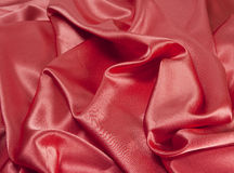Fundo cor-de-rosa do cetim Fotografia de Stock