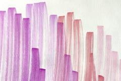 Fundo cor-de-rosa do doodle Imagens de Stock