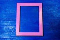 Fundo cor-de-rosa do frame Fotos de Stock