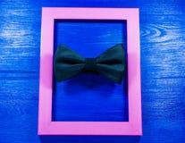Fundo cor-de-rosa do frame Imagem de Stock