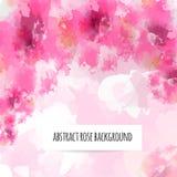 Fundo cor-de-rosa do sumário Ilustração Stock