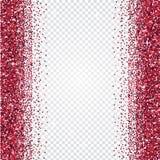 Fundo cor-de-rosa do sumário do brilho Contexto brilhante do ouropel ilustração do vetor
