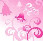 Fundo cor-de-rosa do vetor Fotos de Stock