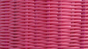Fundo cor-de-rosa do weave de cesta Foto de Stock