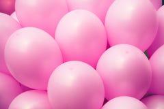 Fundo cor-de-rosa dos ballons Fotos de Stock