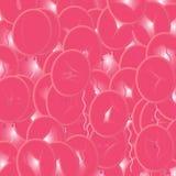 Fundo cor-de-rosa dos Ballons do partido Imagens de Stock Royalty Free