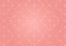Fundo cor-de-rosa dos corações Foto de Stock Royalty Free