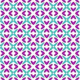 Fundo cor-de-rosa e azul com cruz Imagens de Stock Royalty Free