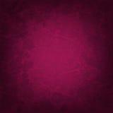 Fundo cor-de-rosa escuro com flores Imagens de Stock