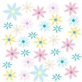 Fundo cor-de-rosa floral do sumário da natureza Fotos de Stock