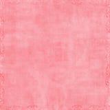 Fundo cor-de-rosa macio do Scrapbook Imagens de Stock