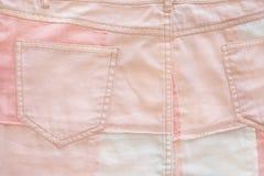Fundo cor-de-rosa para o bebê Árvore congelada sozinha Fotografia de Stock Royalty Free