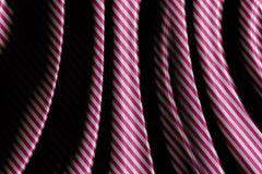 Fundo cor-de-rosa retro com listras Imagens de Stock Royalty Free