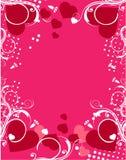 Fundo cor-de-rosa romântico Fotografia de Stock Royalty Free