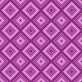 Fundo cor-de-rosa sem emenda do teste padrão do diamante da cor. ilustração stock