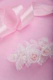 Fundo cor-de-rosa Wedding fotos de stock