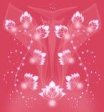 Fundo coral bonito Imagem de Stock Royalty Free