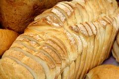 Fundo cortado do pão foto de stock royalty free