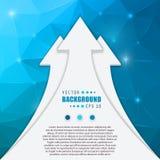 Fundo criativo abstrato do vetor do conceito para a Web e aplicações móveis, projeto do molde da ilustração, negócio Foto de Stock