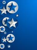 Fundo criativo das estrelas ilustração stock