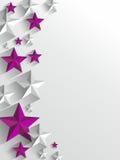 Fundo criativo das estrelas ilustração do vetor