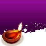 Fundo criativo do diwali ilustração do vetor
