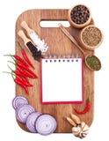 Fundo culinário Fotografia de Stock
