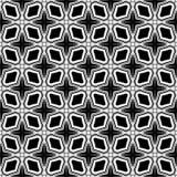 Fundo curvado preto e branco ilustração stock