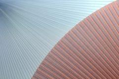 Fundo 3D abstrato sob a forma das telas onduladas Fotografia de Stock Royalty Free