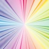 Fundo 3d colorido com ondas abstratas, linhas Curvas brilhantes da cor, redemoinho Imagem de Stock