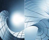 fundo 3D futurista Imagens de Stock Royalty Free